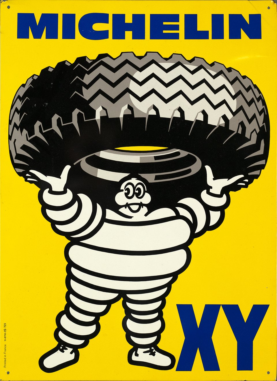 Michelin XY – Vintage poster – ANONYME – 1967