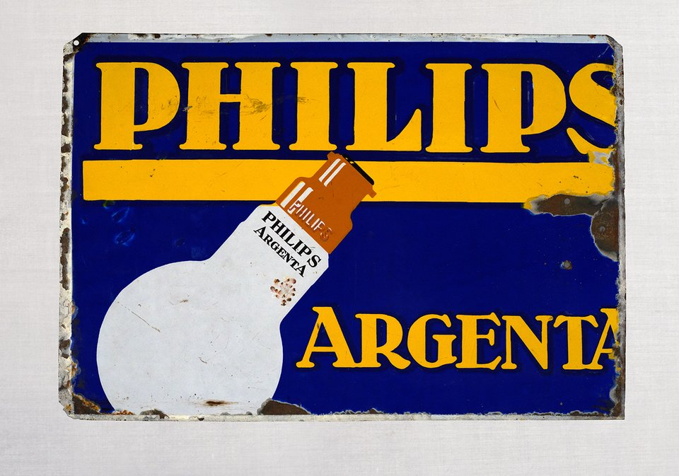 Philips Argenta – Affiche ancienne – ANONYME – 1950