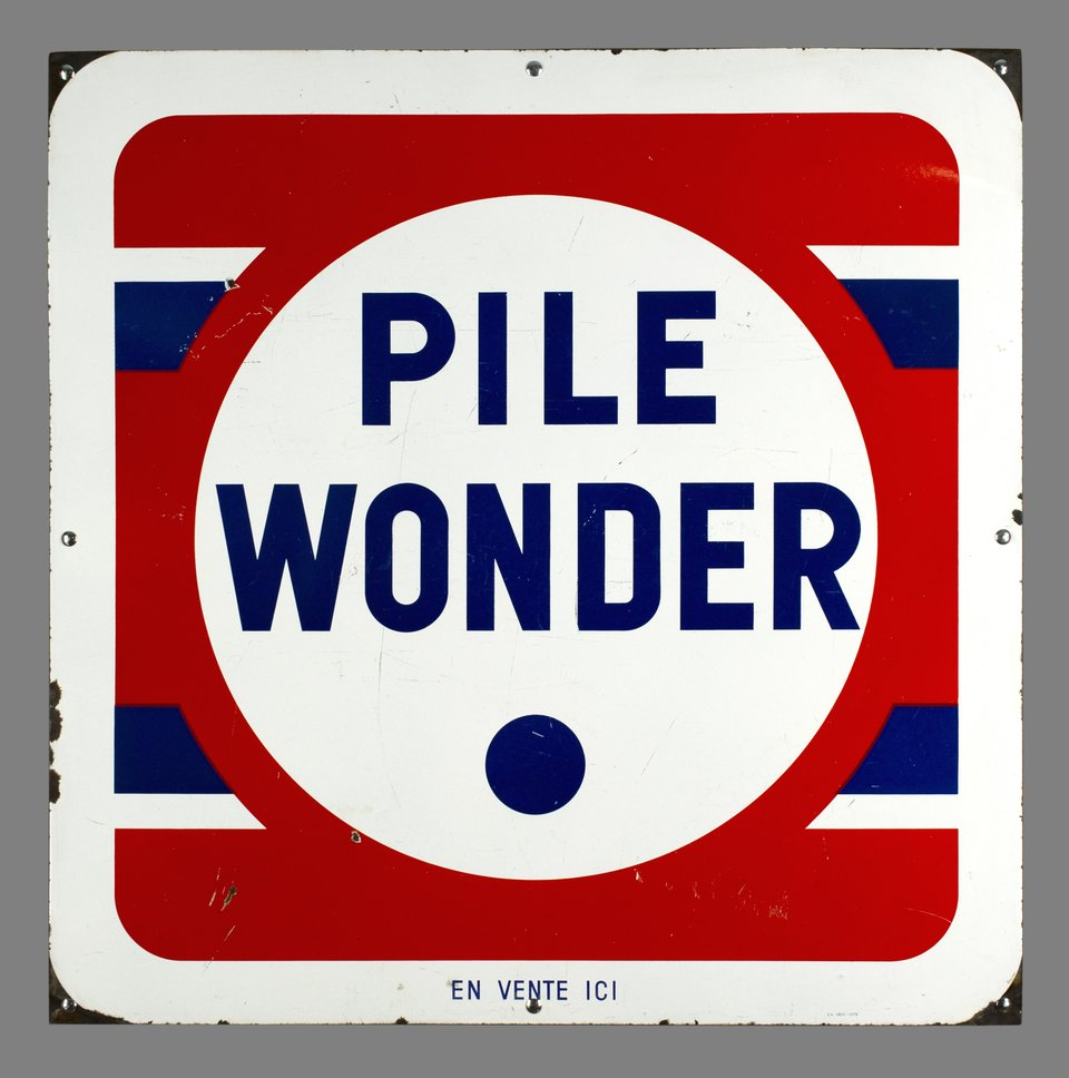 Pile Wonder – Affiche ancienne –  ANONYME – 1950