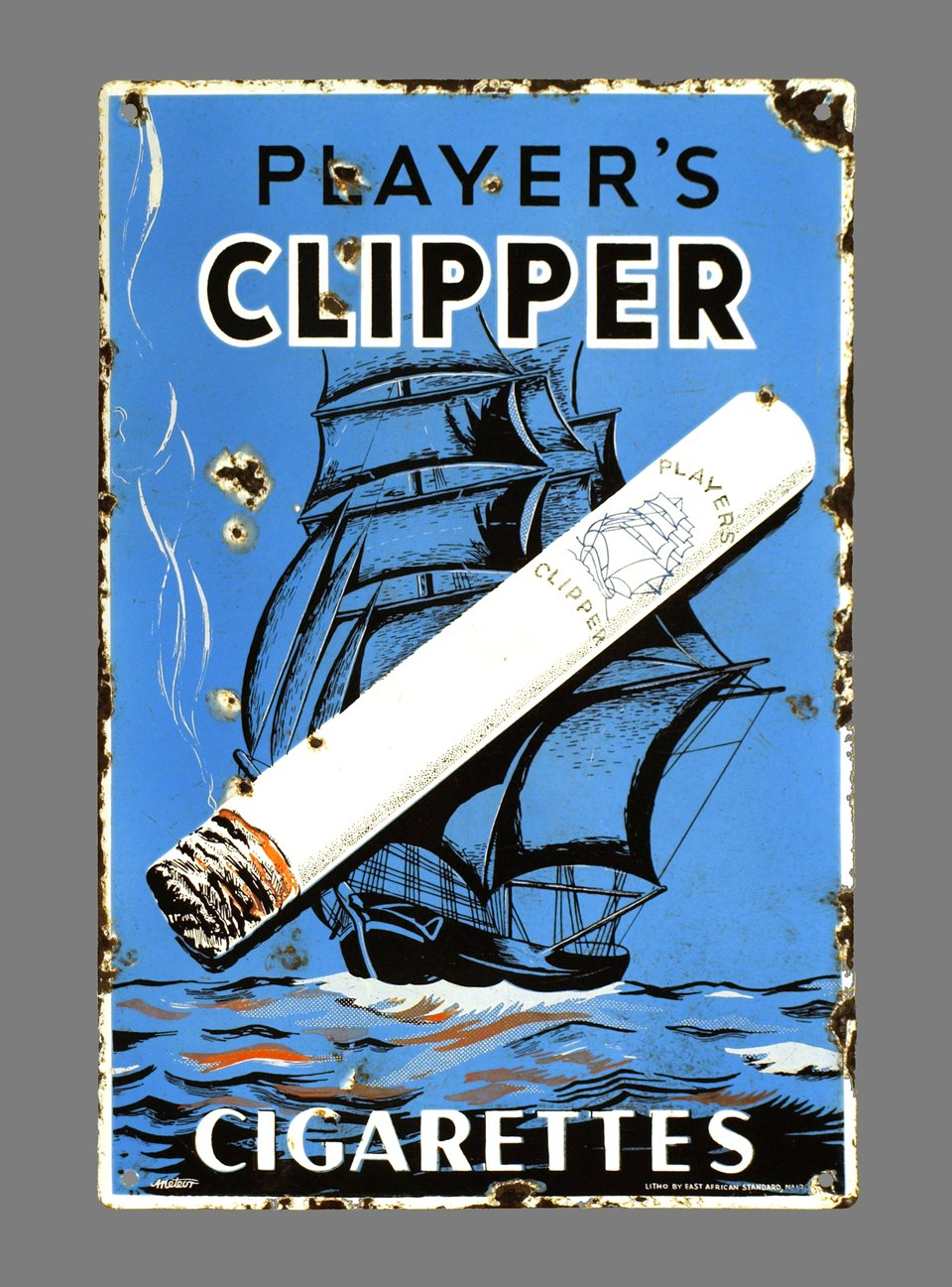 Player's Clipper Cigarettes – Vintage poster – ANONYME – 1930