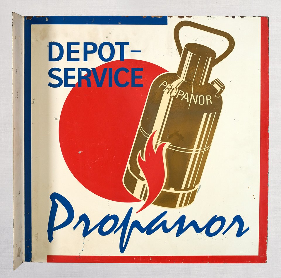 Propanor, Dépot Service – Vintage poster – ANONYME – 1970