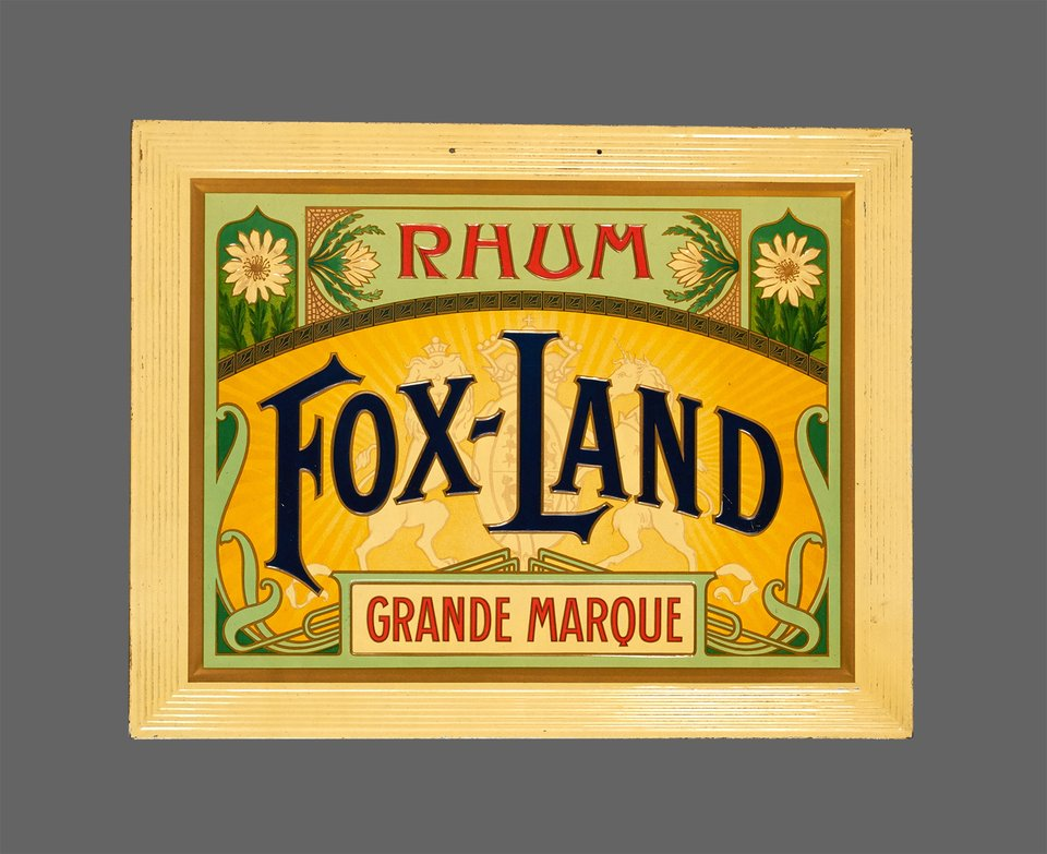 Rhum Fox-Land – Vintage poster – ANONYMOUS – 1910