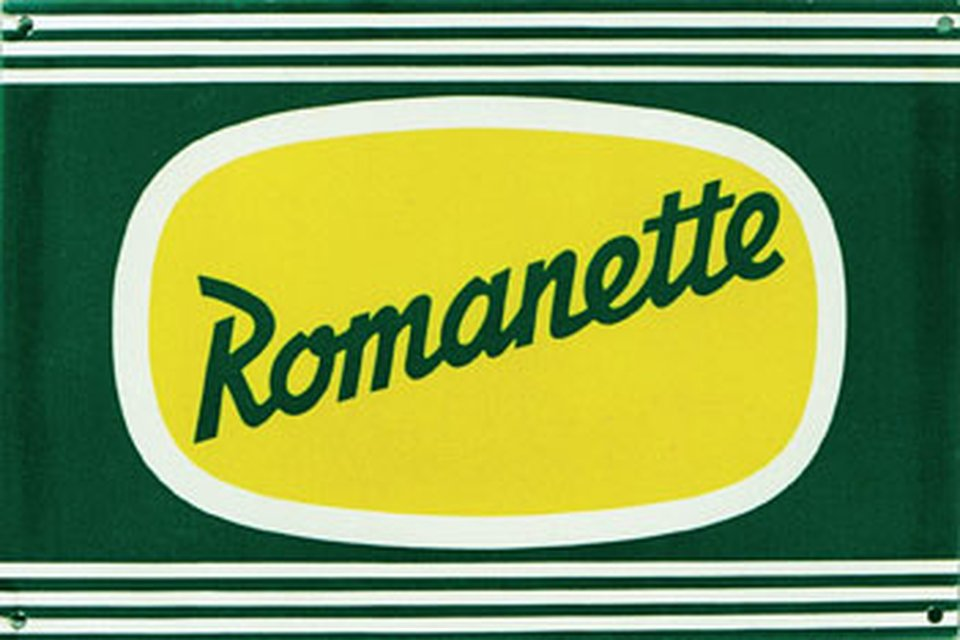 Romanette – Affiche ancienne –  ANONYME – 1950