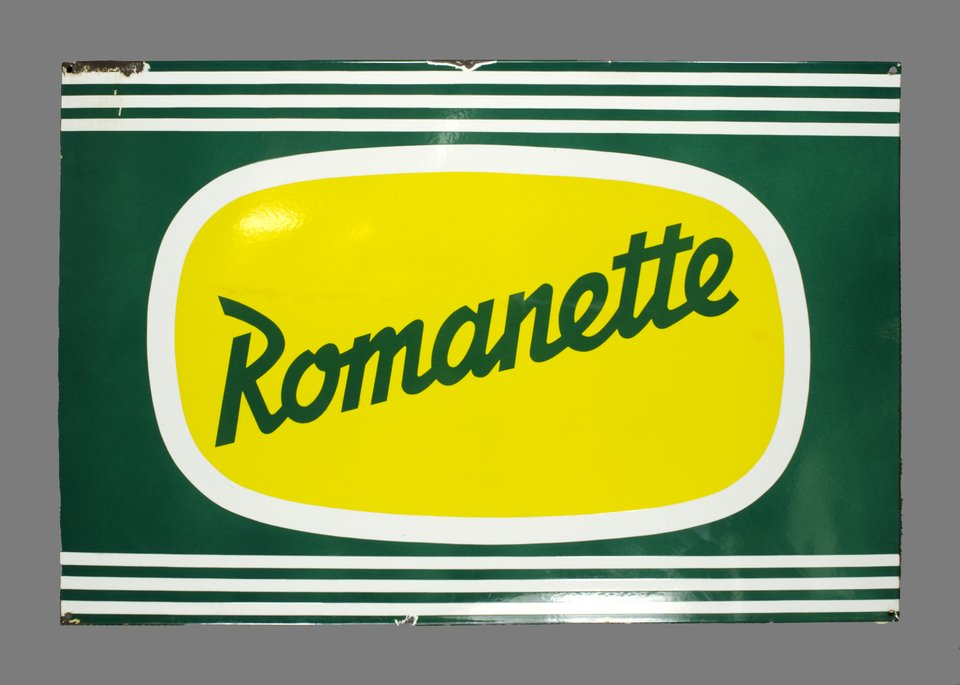 Romanette limonade, Suisse – Affiche ancienne –  ANONYME – 1950