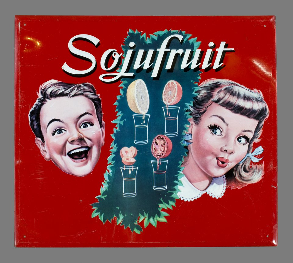 Sojufruit – Vintage poster –  ANONYME – 1959