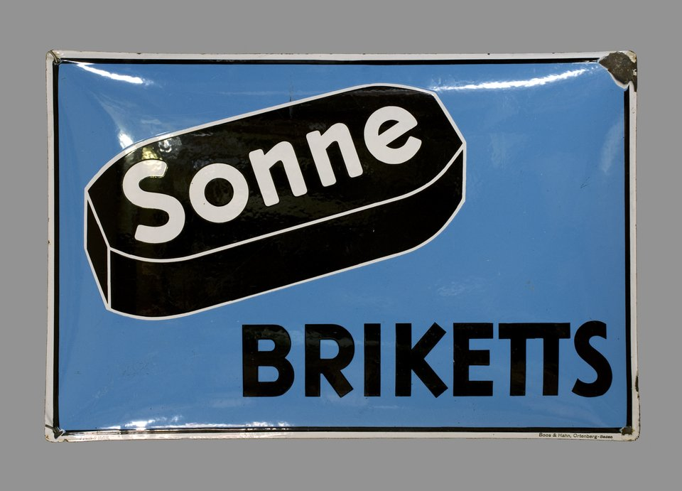 Sonne Briketts – Vintage poster – ANONYME – 1930