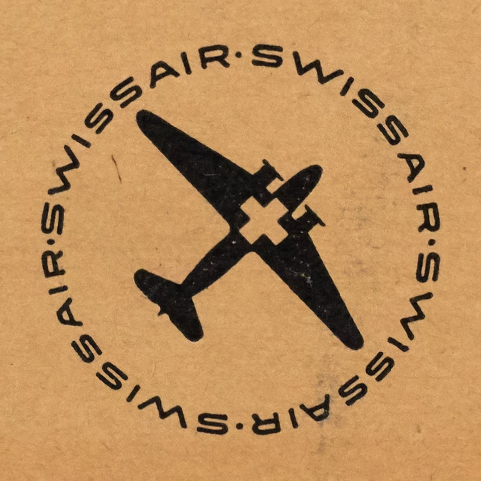 Swissair, Logo 1944 – Vintage poster – ANONYME – 1944