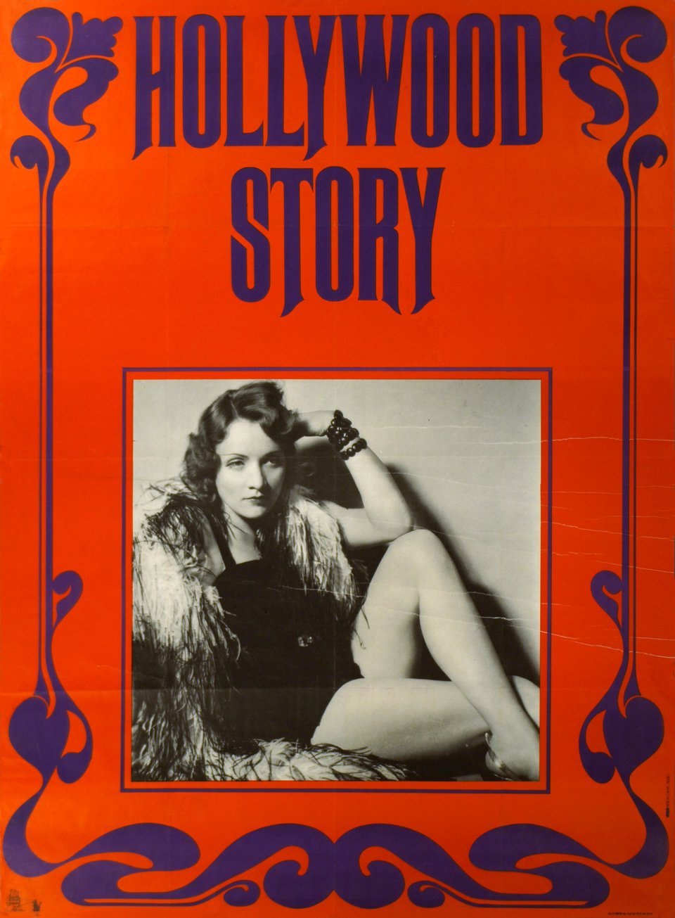 Hollywood Story – Affiche ancienne –  ANONYME – 1970