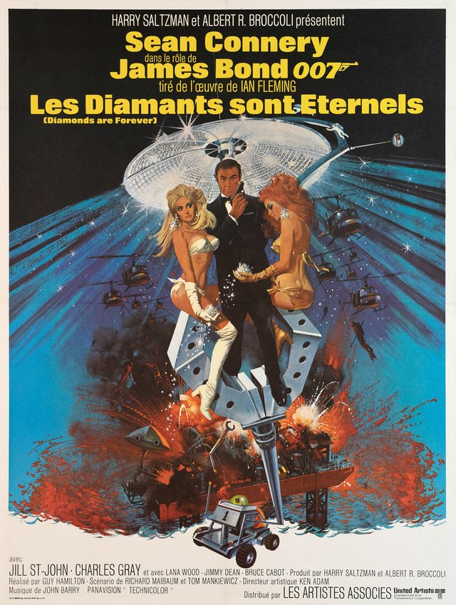 James Bond 007, Les Diamants sont Eternels