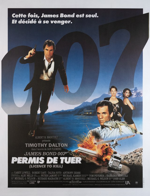 James Bond 007, Permis de tuer