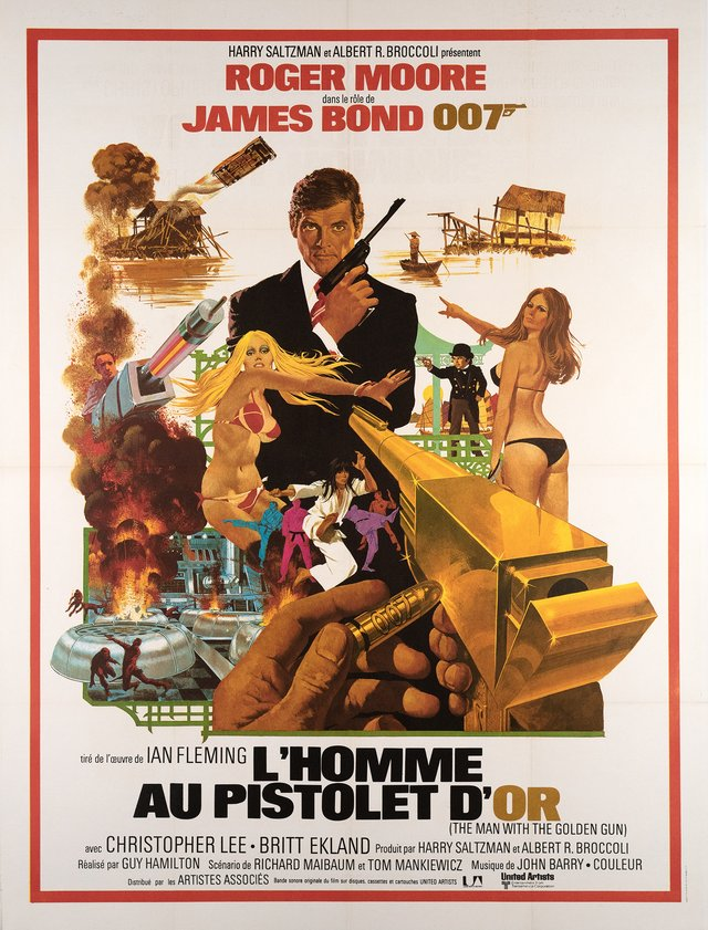 James Bond 007, l'Homme au Pistolet d'Or