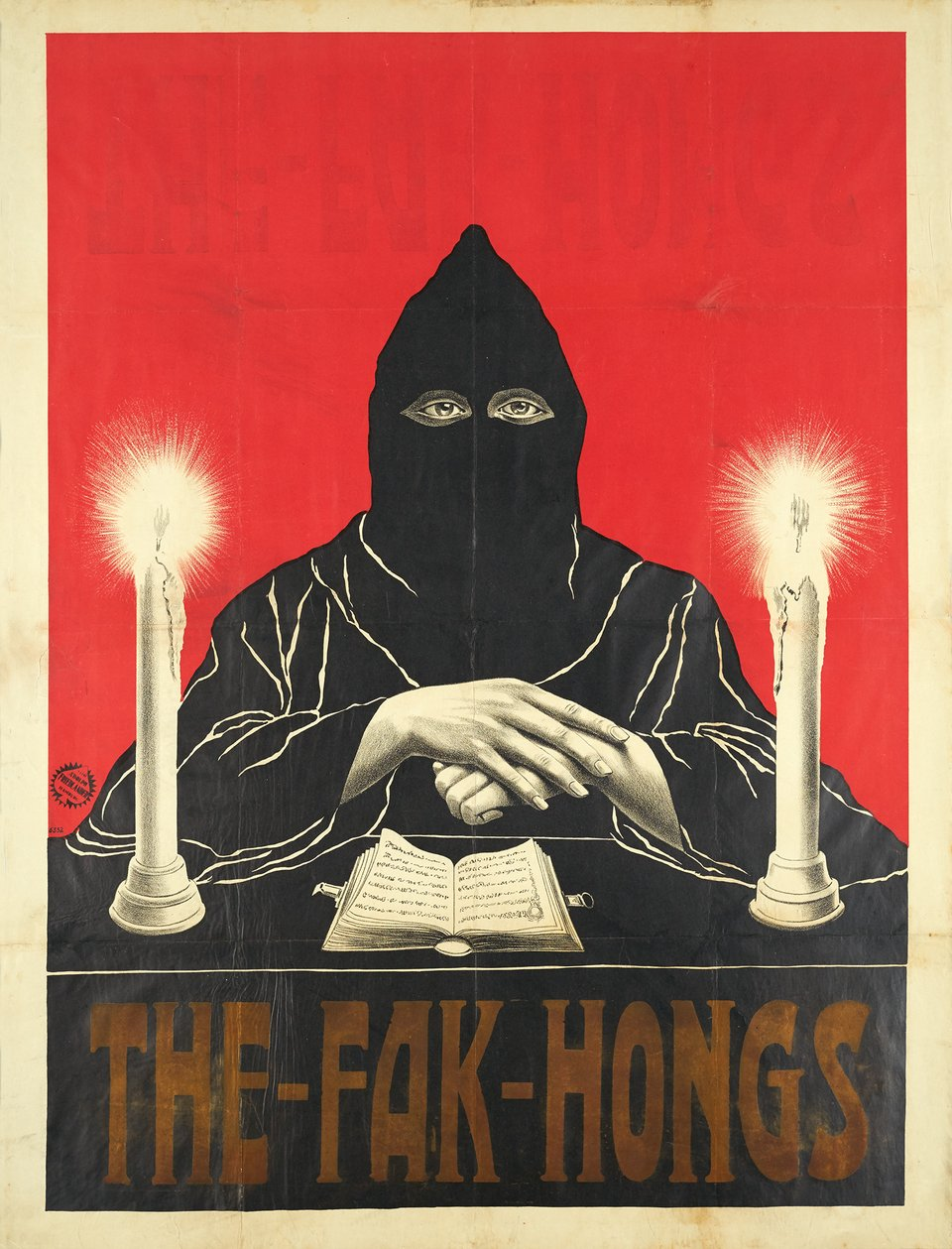 The Fak Hongs – Affiche ancienne –  ANONYME – 1915