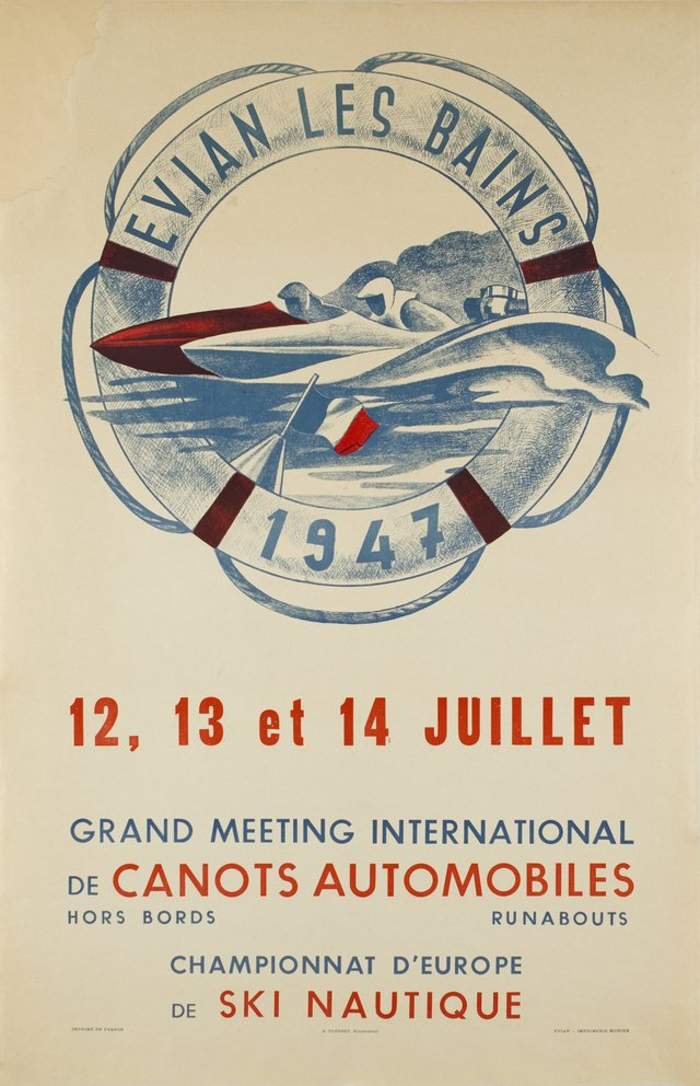 Evian-les-Bains, Grand meeting international de canots automobiles