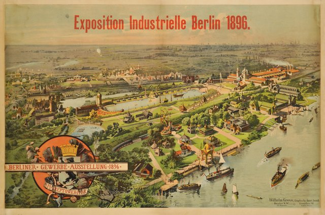 Exposition industrielle de Berlin