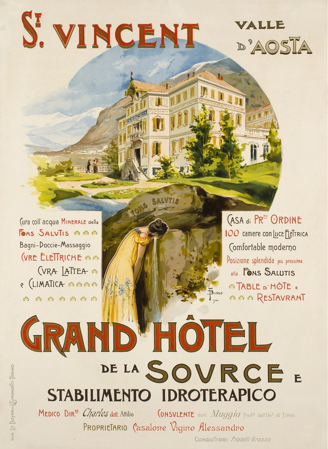 Grand Hôtel de la Source, St.Vincent, Valle d'Aosta