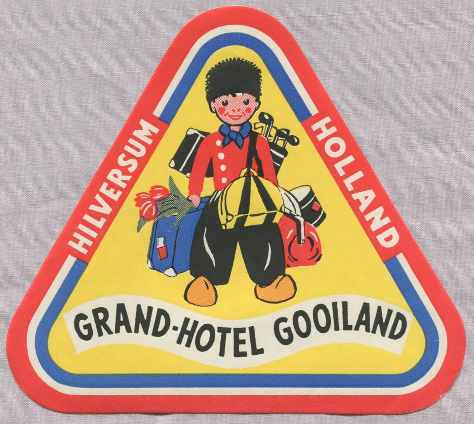 Grand-Hotel Gooiland – Vintage poster – ANONYME – 1950