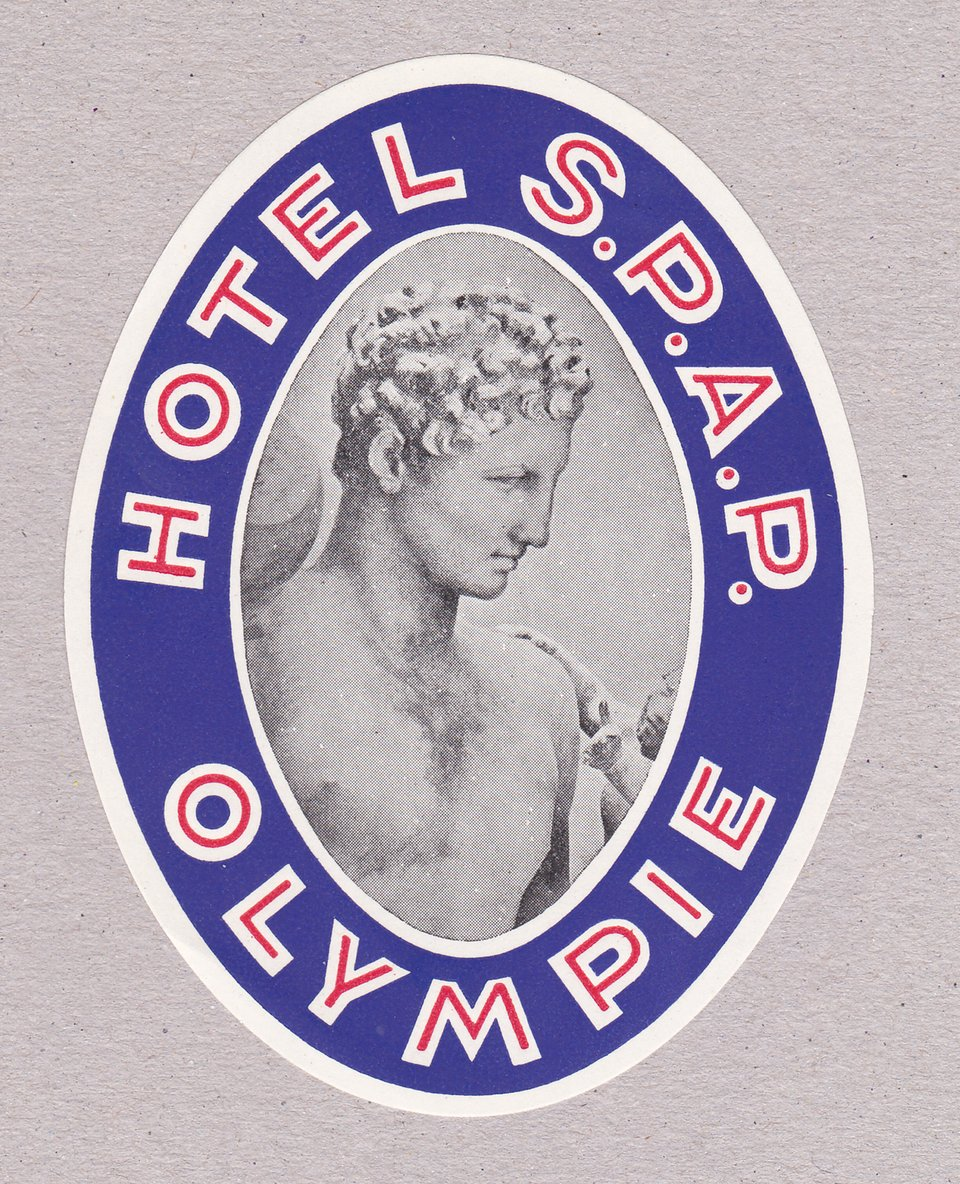 Hotel SPAP – Affiche ancienne – ANONYME – 1950