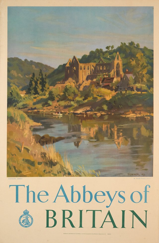 The Abbeys of Britain, British Travel and Holidays Association